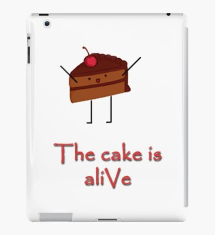 The cake is a-LIvE iPad Case/Skin