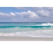 Grand Anse, La Digue, Seychelles Photographic Print