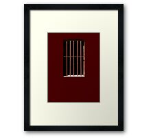 This Is My Own Little Prison Framed Print