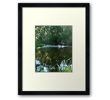 High Country Rider Framed Print