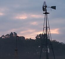 Good Morning - Windmill - Great Morning by Eric Ford