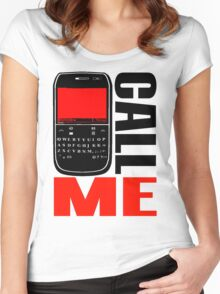 CALL ME-7 Women's Fitted Scoop T-Shirt