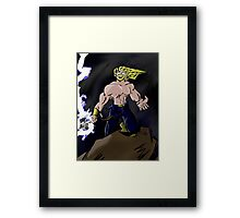 Fury of the Storm Framed Print