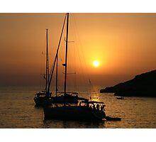 Sundown, Ibiza Photographic Print