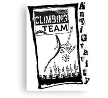 AntiGravity Climbing Team 1 Canvas Print