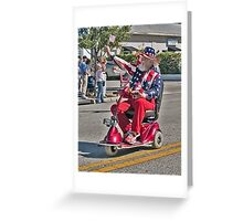 Father Patriotism Greeting Card