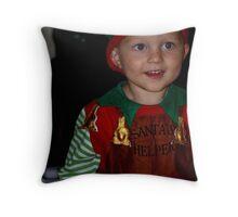 Lil' elf Throw Pillow