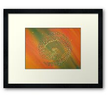 Harvest of the cycle Framed Print