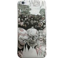 Unwanted Dinner Guests iPhone Case/Skin