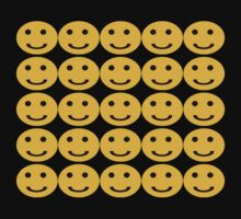 Smiley Face T-Shirt by simpsonvisuals