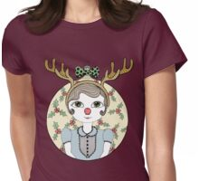 Waiting for Santa Womens Fitted T-Shirt