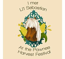 I met Li'l Sebastian at the Pawnee Harvest Festival Photographic Print