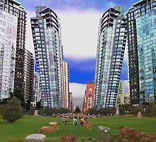 Split Towers by joefiddler