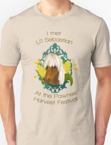 I met Li'l Sebastian at the Pawnee Harvest Festival T-Shirt
