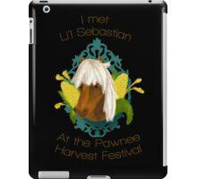 I met Li'l Sebastian at the Pawnee Harvest Festival iPad Case/Skin