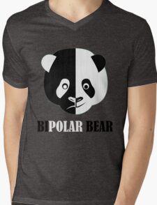 BiPolar Bear Mens V-Neck T-Shirt