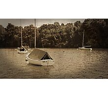 Sailboats Photographic Print
