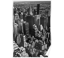New York from Empire State Building Poster