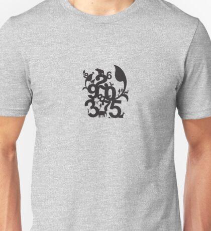 animals & Numbers Unisex T-Shirt