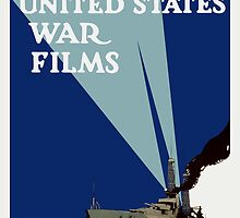 Official United States War Films -- WWI Print by warishellstore