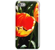 Sunrise Over Tulips iPhone Case/Skin
