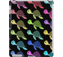 Rainbow turtles iPad Case/Skin