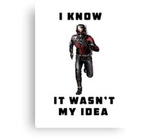 Ant-Man Canvas Print
