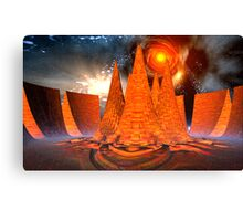 The Chamber Within - Pele's Heaven Canvas Print