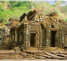 The Khmer Sanctuary at Vat Phou - Champassack, Laos by AsiaArchaeology