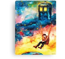 Watchful Doctor Canvas Print