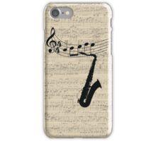 Saxophone iPhone Case/Skin