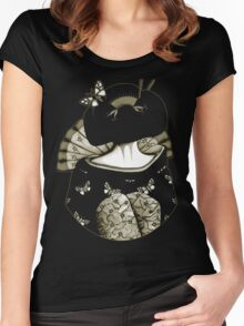Geisha Girl antique Women's Fitted Scoop T-Shirt