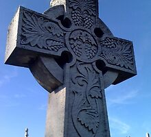 Grave Cross with Grapevines by SylviaS