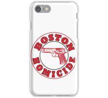 Rizzles Boston Homicide Logo iPhone Case/Skin