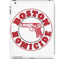 Rizzles Boston Homicide Logo iPad Case/Skin