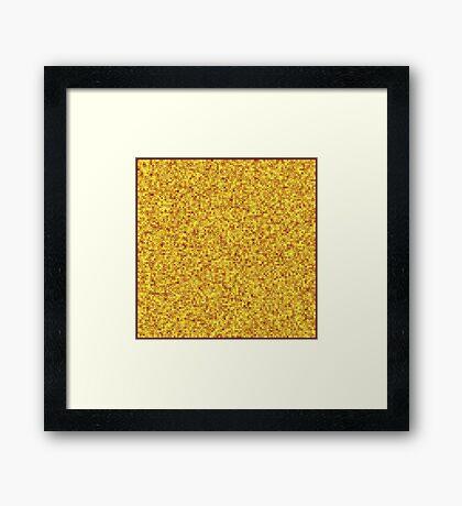 10000 Squares  Framed Print