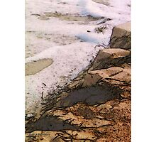 The Sand and the Sea Photographic Print