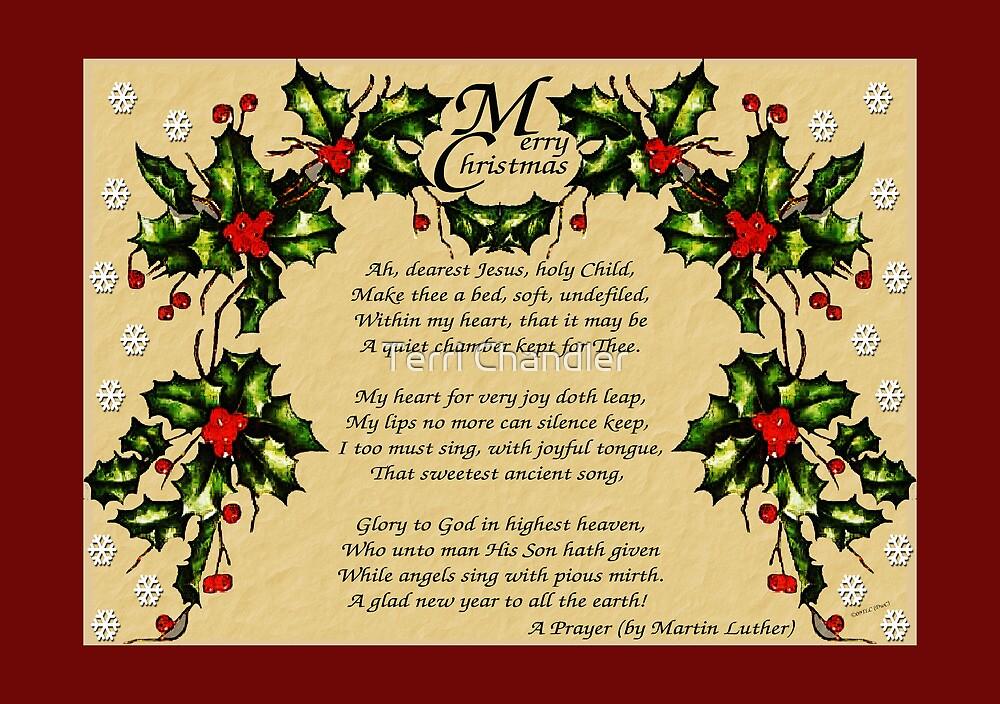 A Christmas Prayer by Terri Chandler