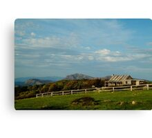 Craigs Hut, Mt Stirling Canvas Print