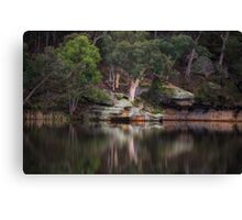 Dunns Swamp #1 - The HDR Experience Canvas Print
