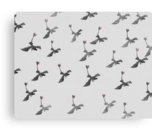 toothless pattern Canvas Print