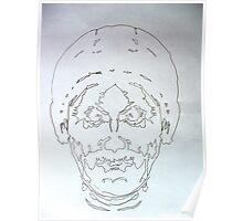 Symmetric Portrait. Poster