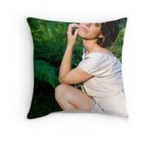 Deep in the Forest #2 Throw Pillow