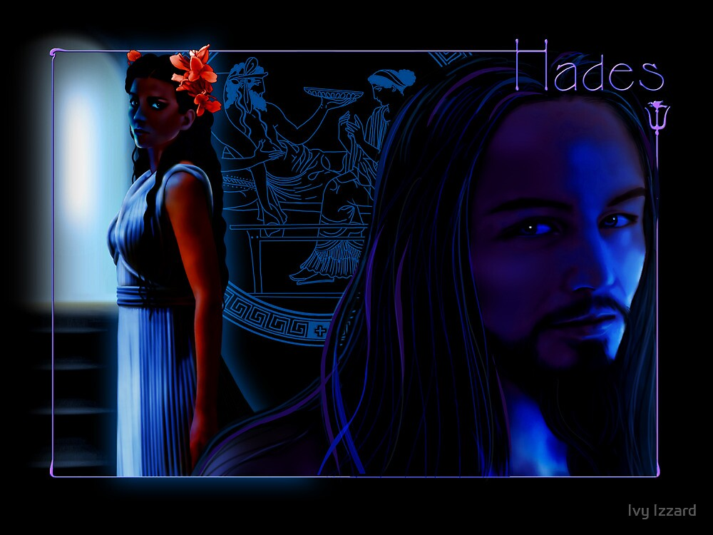 Hades and Persephone by Ivy Izzard