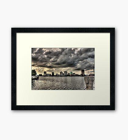 Norfolk At A Distance Framed Print