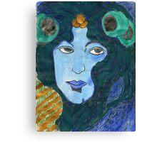 Art Nouveau Beauty Canvas Print