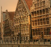 Belgium - Ghent Quay by Gilberte
