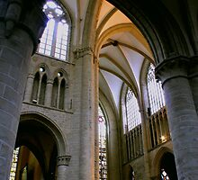 Cathedral Ceiling in Gent Belgium by AdventureSetter