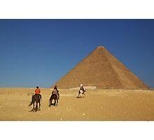 Desert Riders Photographic Print