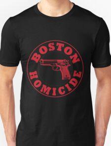 Rizzles Boston Homicide Logo Unisex T-Shirt